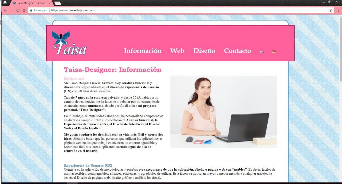 My Business Webseite | Web Design | Taisa-Designer
