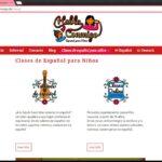 Página Web para Clases de Español