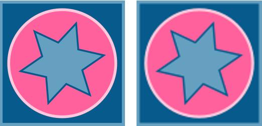Comparativa de Imagen Vectorial Ampliada