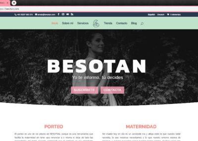 Web Design Besotan.com