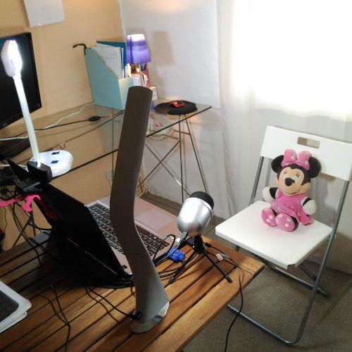 Mi estudio de grabacion para grabar videos