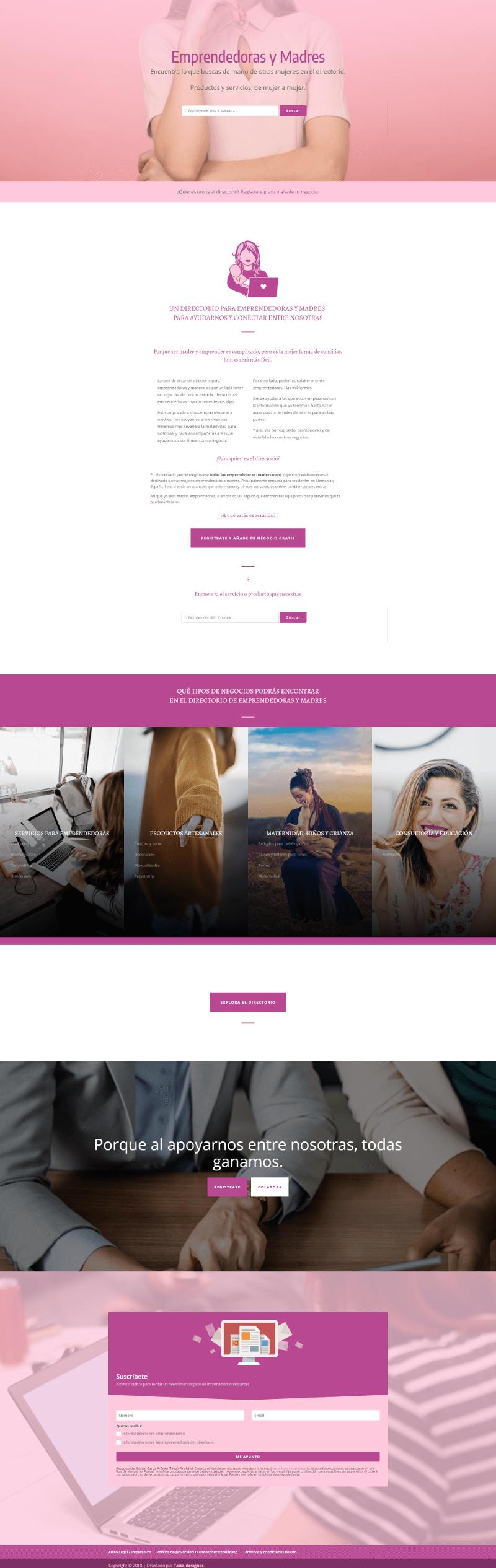 Diseño Web Bremenianos