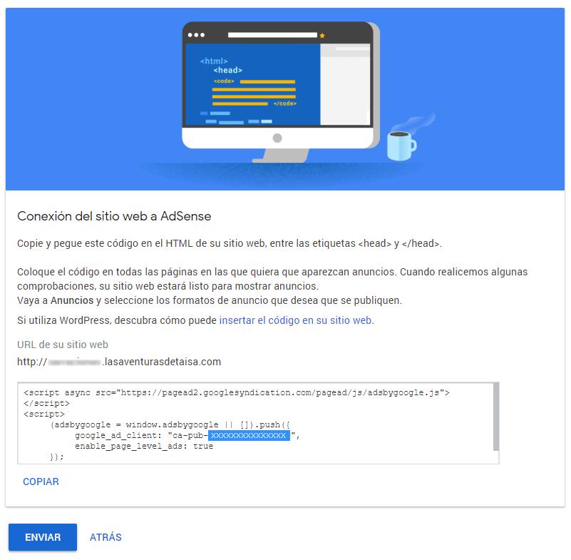 Cómo insertar código adsense en wordpress