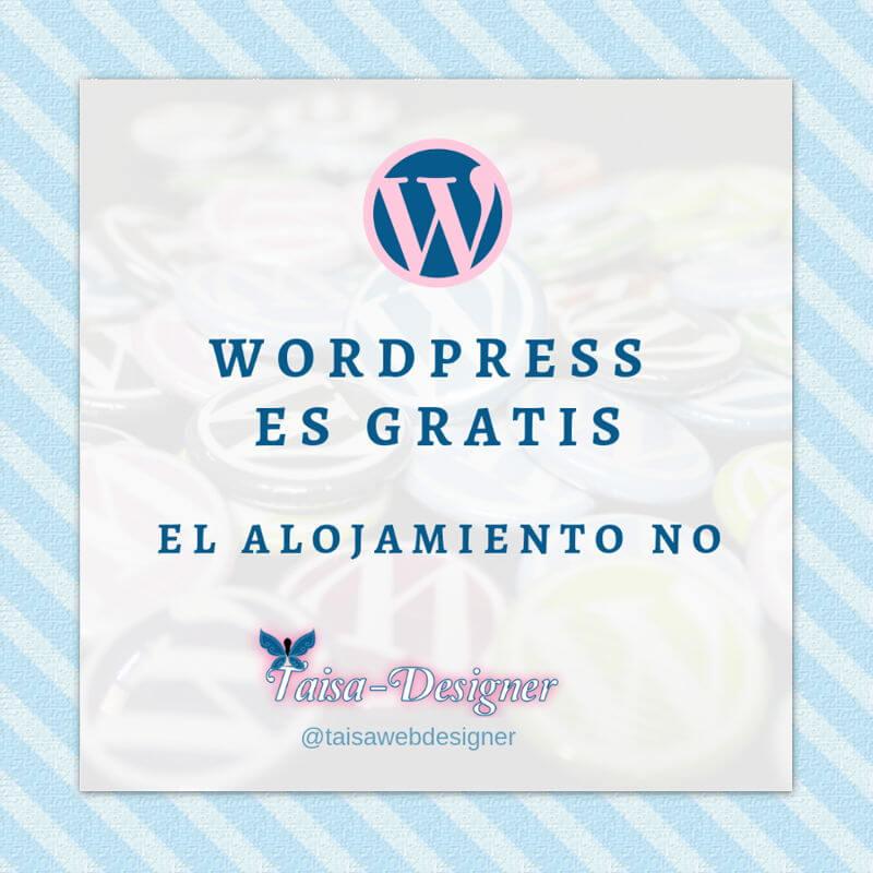 Cómo crear una web WordPress - WordPress es gratis
