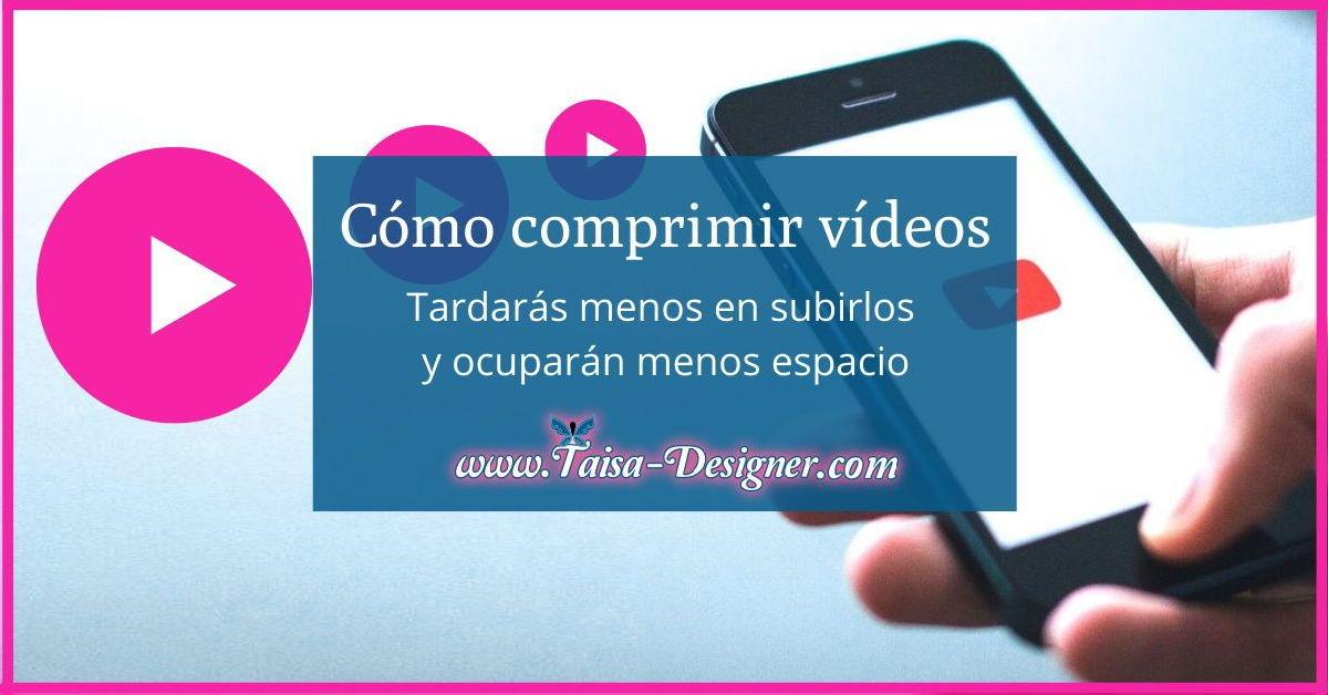 Como comprimir videos para youtube o Instagram - Herramienta gratuita